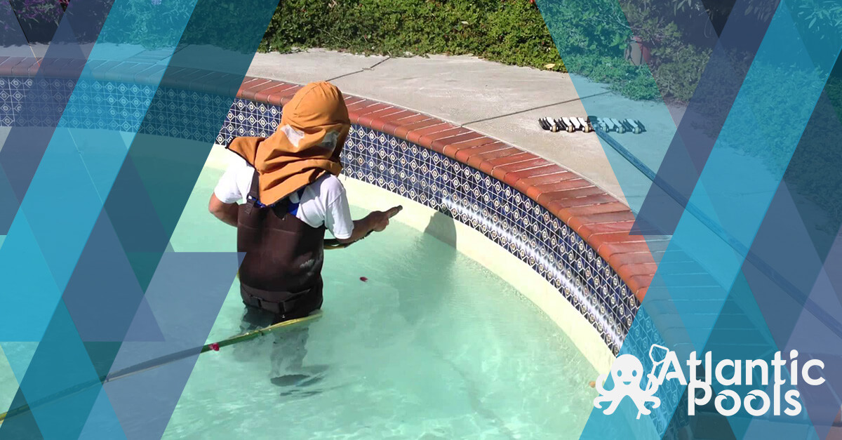 pool-tile-cleaning-houston-bead-blasting